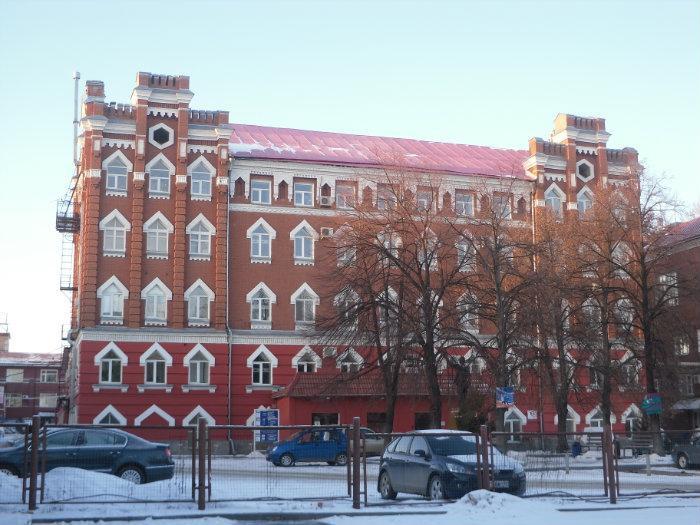 Малая мельница Шмидта на ул. Чернышевского, Саратов