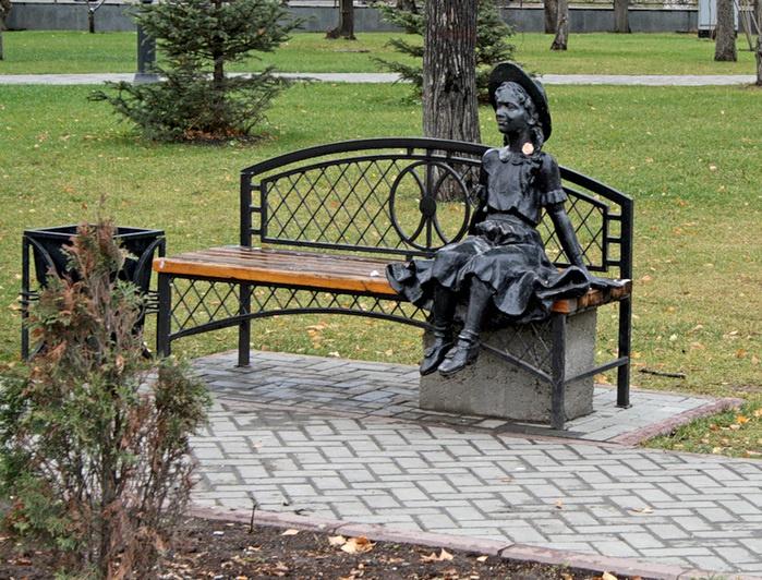 Александровский сад, Тюмень