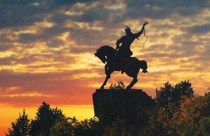 Памятник Салавату Юлаеву, Уфа