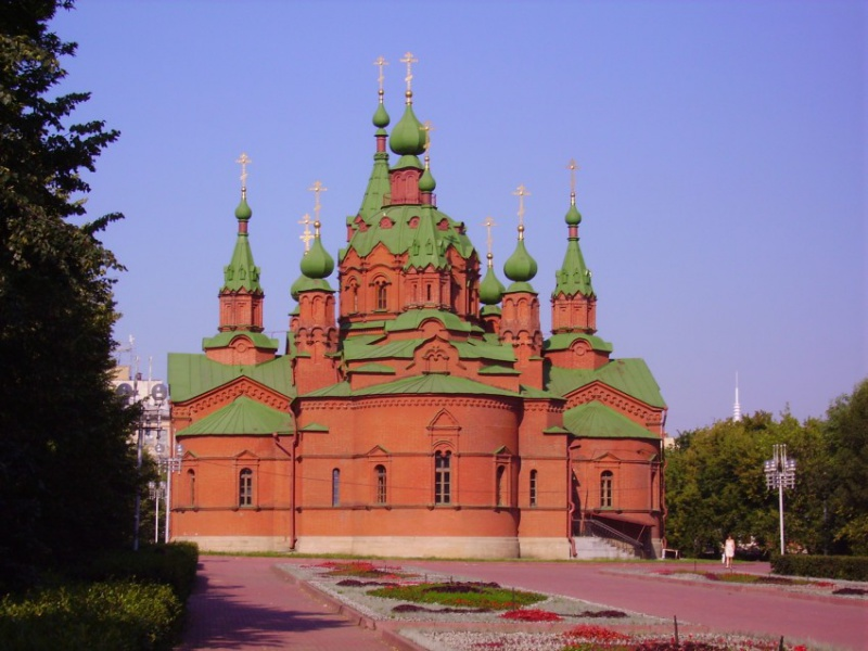 Церковь Александра Невского, Челябинск