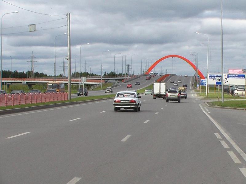 Автодороги Сургута