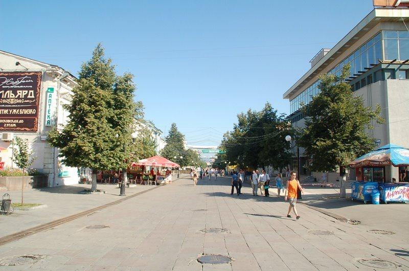 Пешеходная зона, Пенза