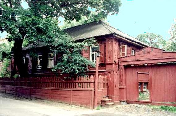 Домик Кашириных, Нижний Новгород