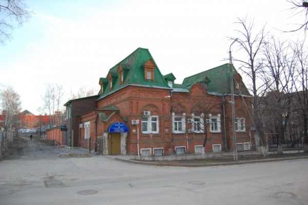 Здание ветеринарной лечебницы и амбулатории, Ульяновск