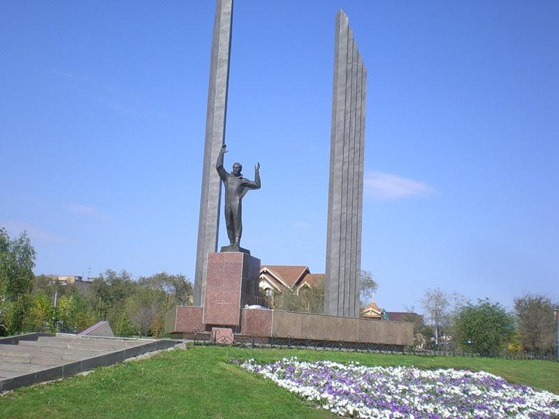 Памятник Гагарину, Оренбург