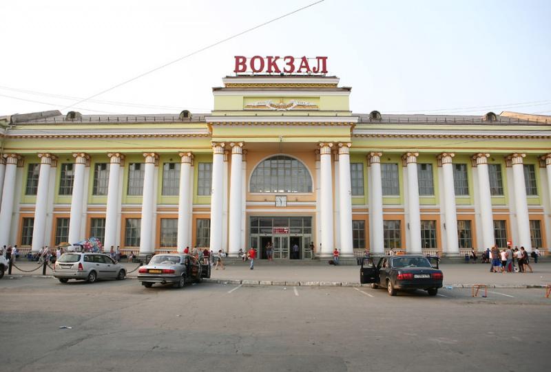 Железнодорожный вокзал Екатеринбурга