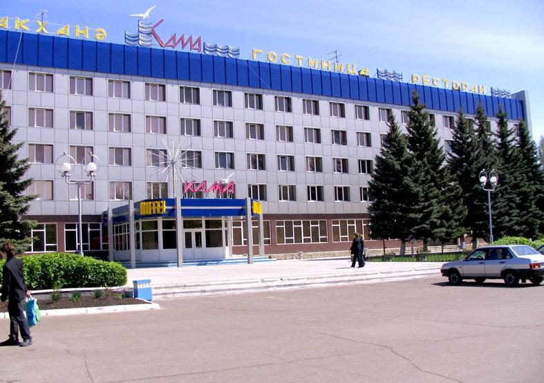 Гостиница «Кама», Нижнекамск