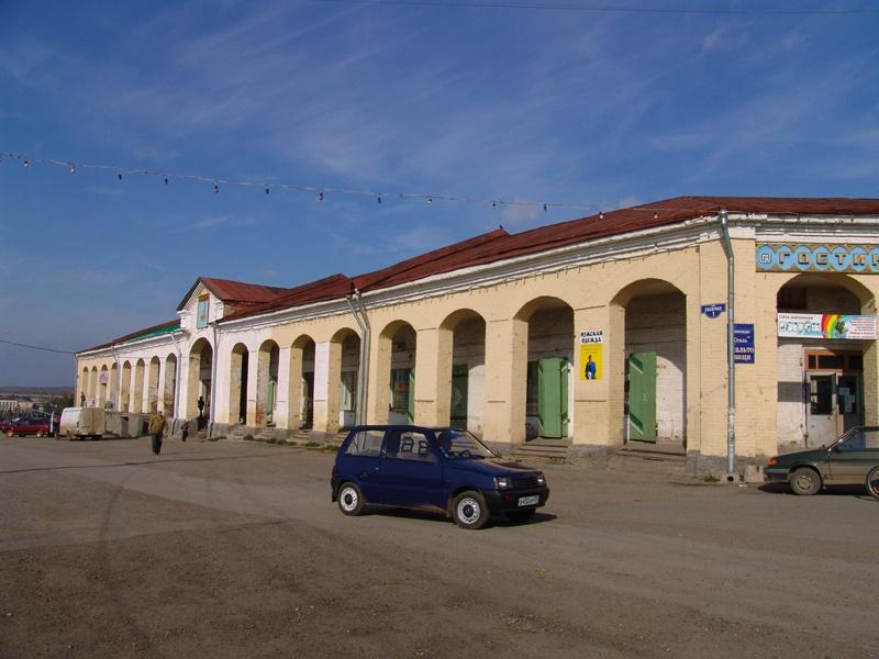 Гостиный двор, Кунгур