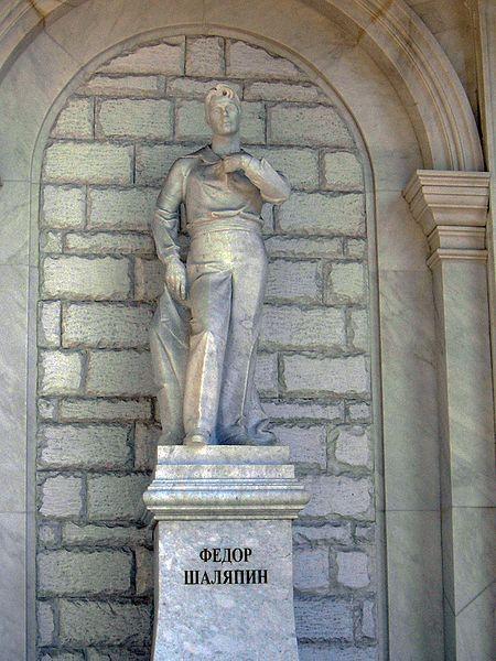 Памятник Фёдору Шаляпину, Уфа