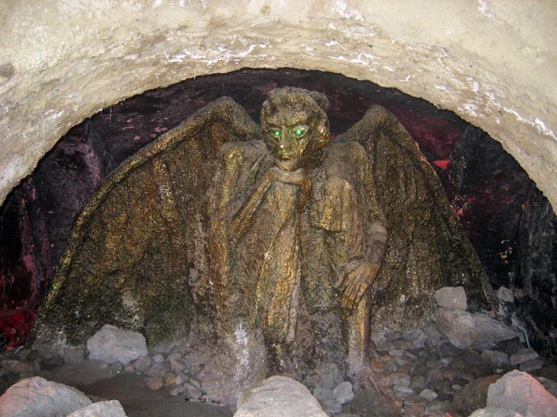 Статуя «Демон», Кисловодск