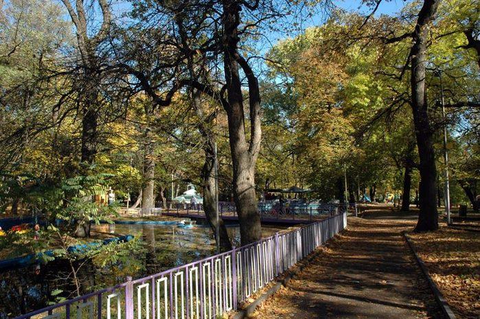 Центральный парк, Ставрополь