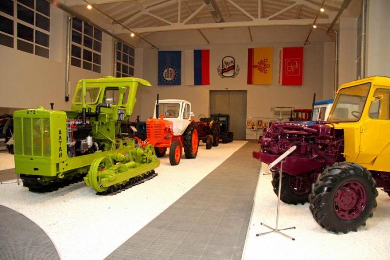 Музей истории трактора, Чебоксары