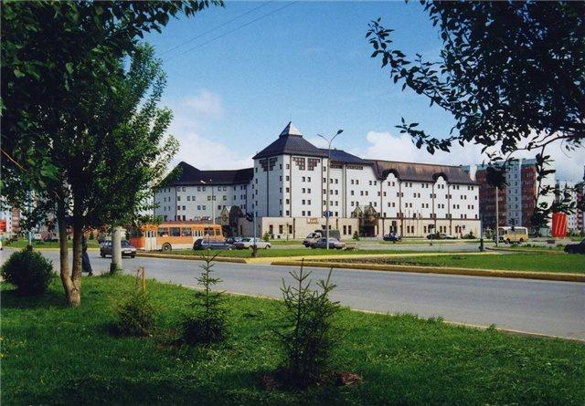 Гостиница «Славянская»,Тобольск