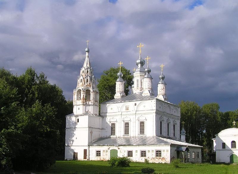 Ансамбль Сретенско-Преображенской и Спасо-Преображенской церквей, Великий Устюг