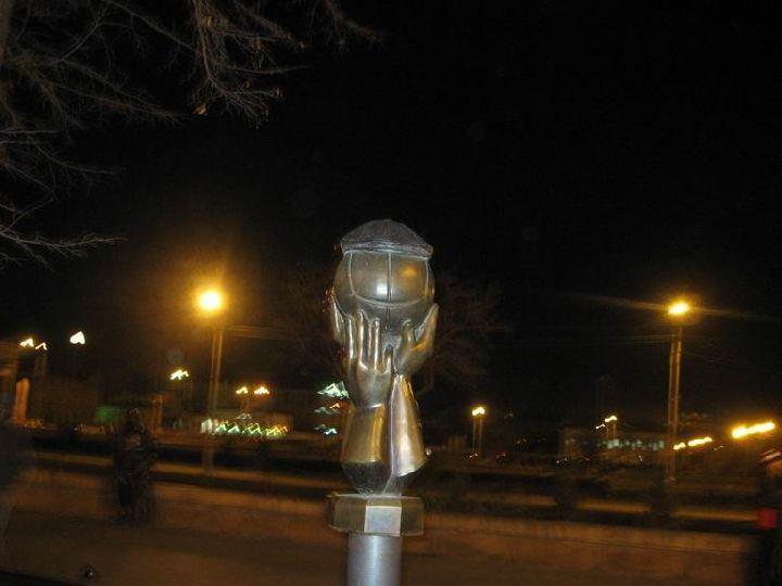 Мяч в кепке, Челябинск