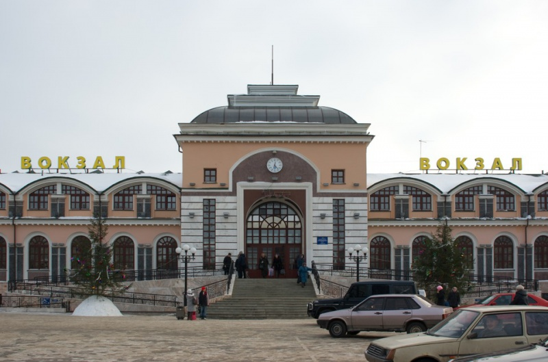 Железнодорожный вокзал Чебоксар