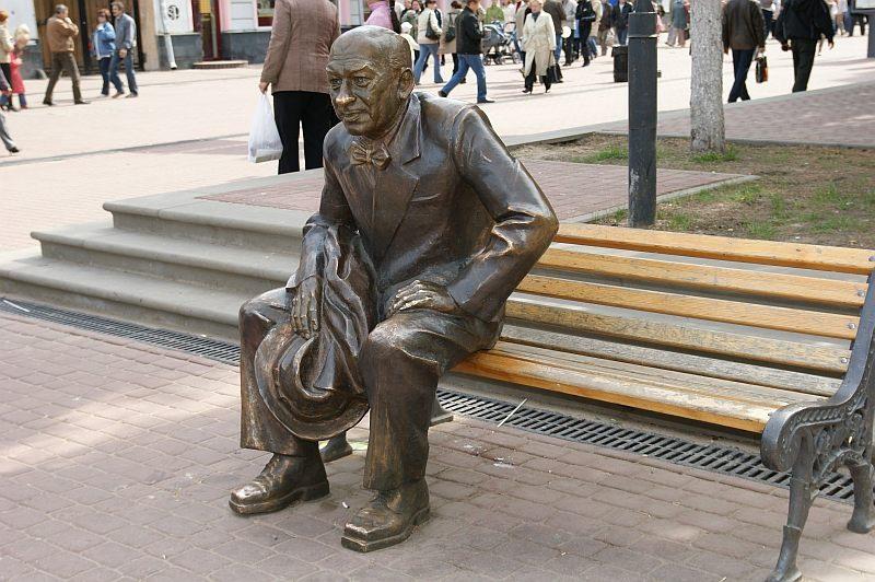 Памятник актёру Евгению Евстигнееву, Нижний Новгород