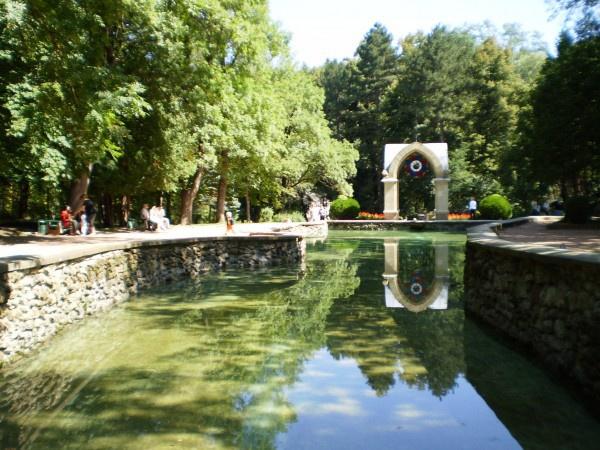 Зеркальный пруд, Кисловодск