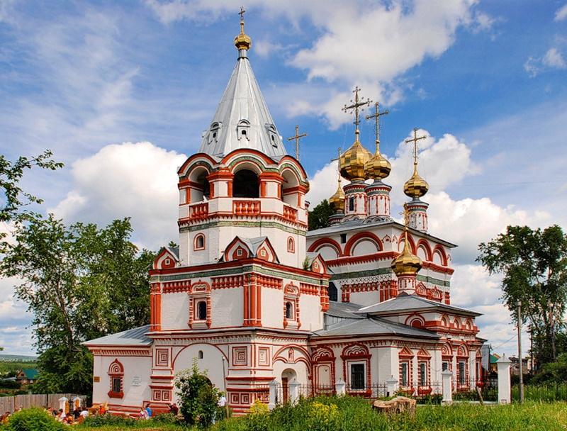 Богоявленская церковь, Соликамск