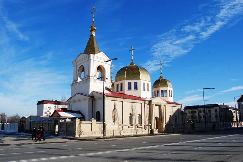 Церковь Михаила Архангела, Грозный
