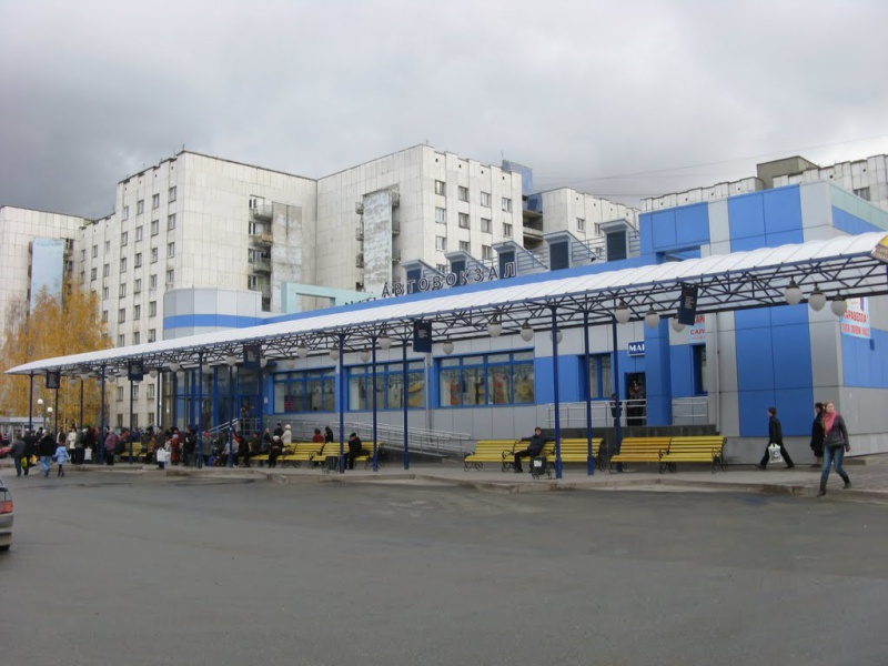 Автовокзал Тобольска