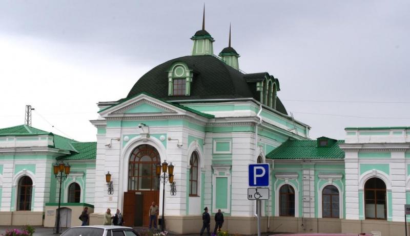 Железнодорожный вокзал Сызрани