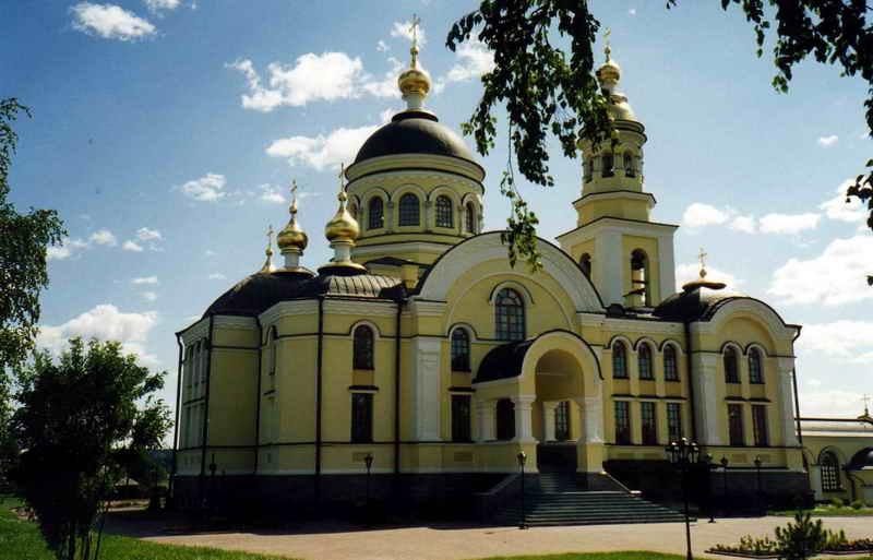 Храм Архистратига Михаила в Меркушино, Верхотурье