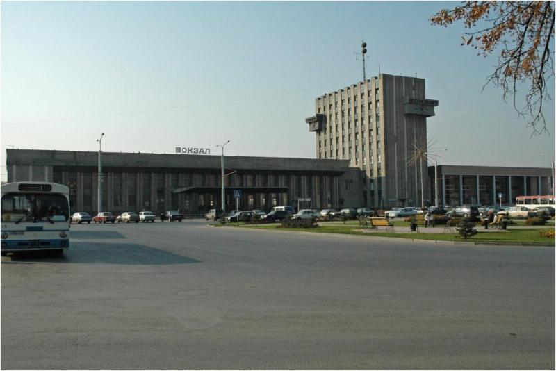 Железнодорожный вокзал Тюмени