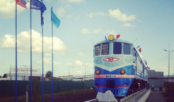 Памятник Первому поезду, Новый Уренгой