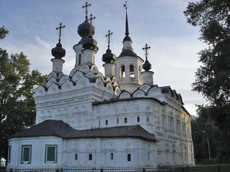 Церковь Вознесения на торгу, Великий Устюг