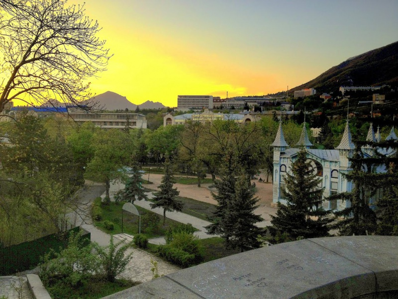 Парк «Цветник», Пятигорск