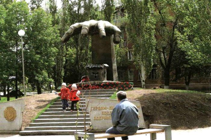 Памятник чернобыльцам, Энгельс