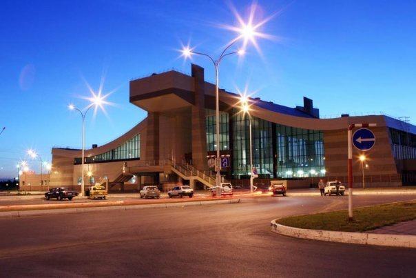 Железнодорожный вокзал Нижневартовска