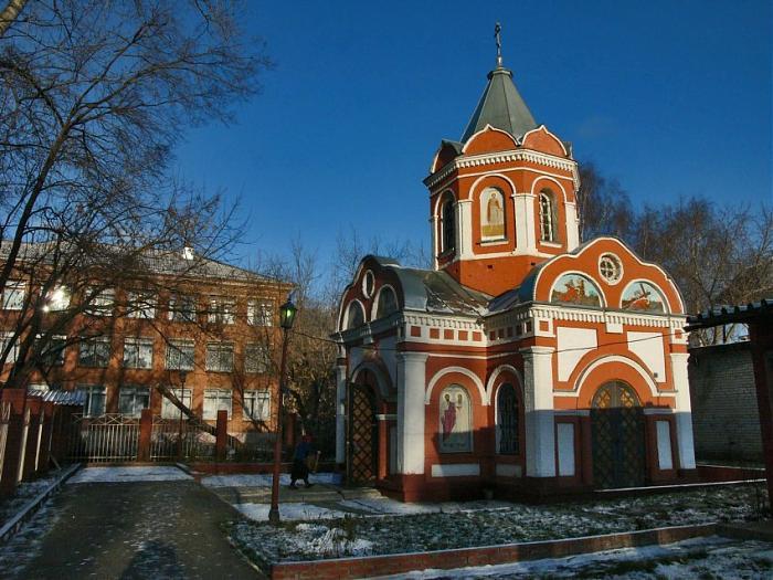 Часовня Крестик, Ижевск