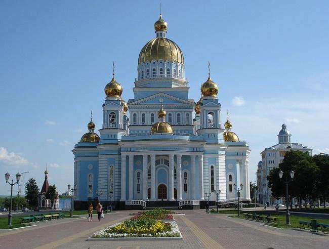 Собор святого праведного воина Фёдора Ушакова, Саранск