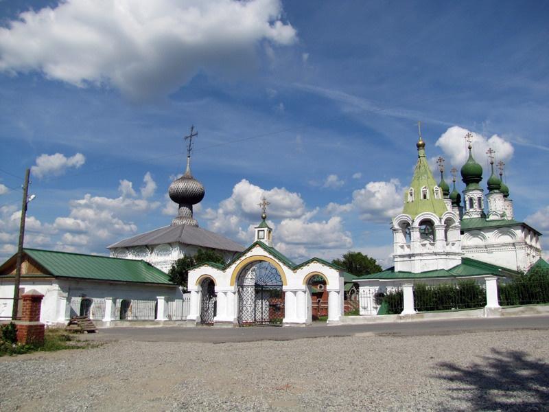 Ансамбль Введенской и Преображенской церквей, Соликамск