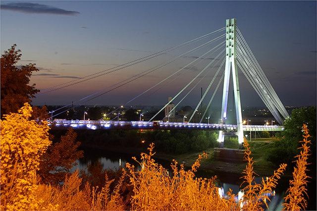Мост Влюблённых, Тюмень