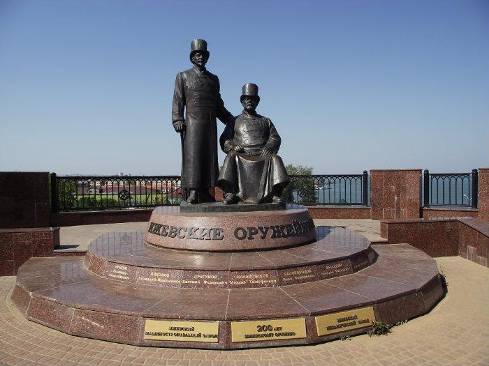 Памятник оружейных дел мастерам царских времён, Ижевск