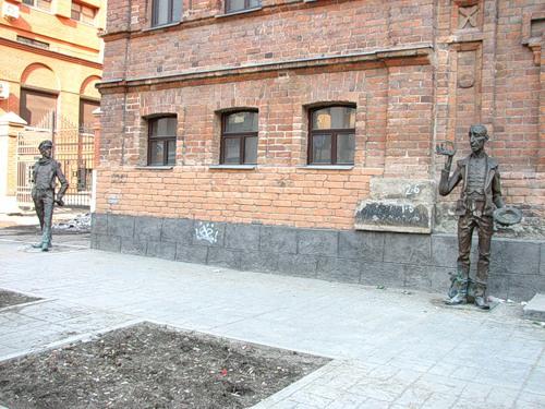 Памятник Остапу Бендеру, Екатеринбург