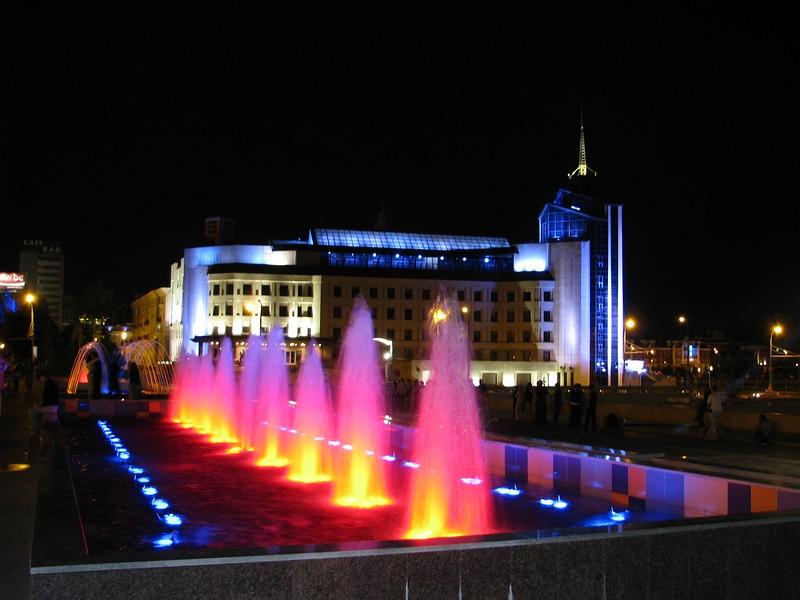 Каскад фонтанов, Казань