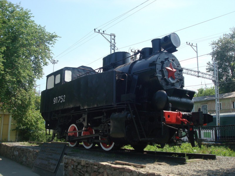 Маневровый танк-паровоз 9П-752, Пермь