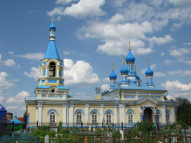 Церковь Казанской иконы Божьей Матери, Кузнецк