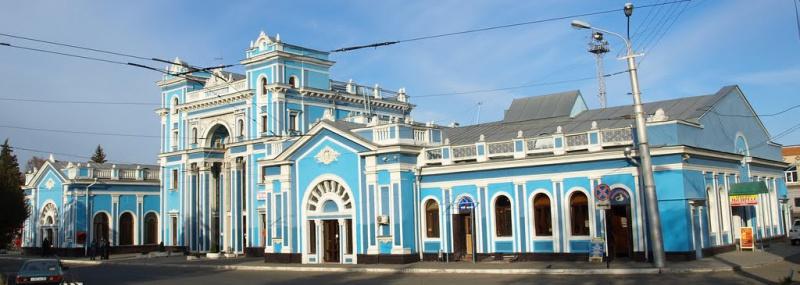 Железнодорожный вокзал Ставрополя
