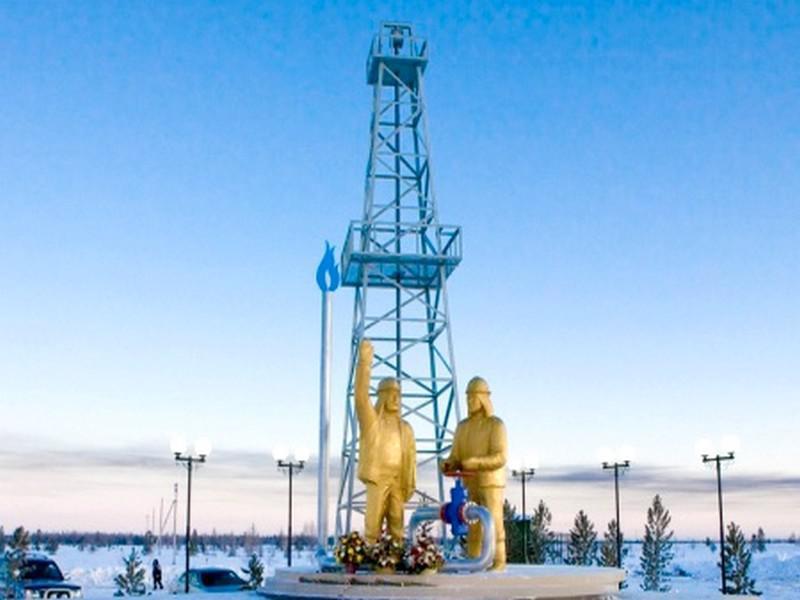 Памятник буровой вышке и людям, Новый Уренгой