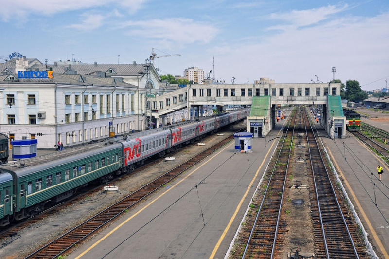 Железнодорожный вокзал Кирова