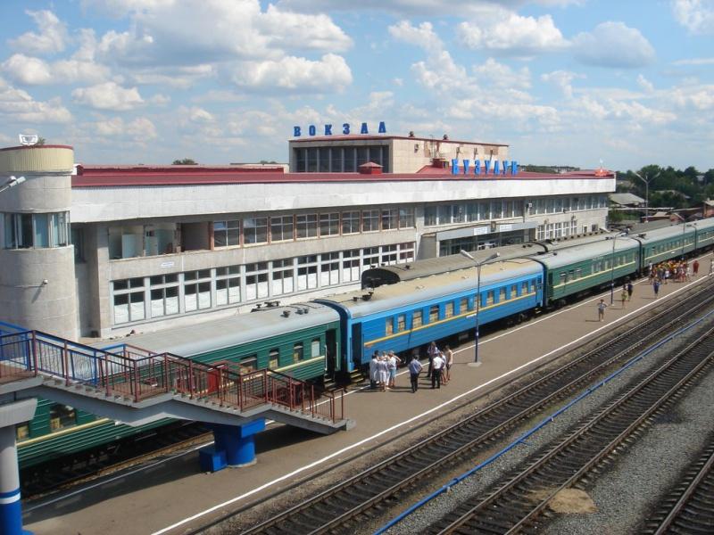 Железнодорожный вокзал Бузулука