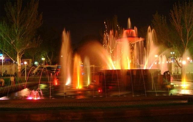 Светомузыкальный фонтан, Пенза