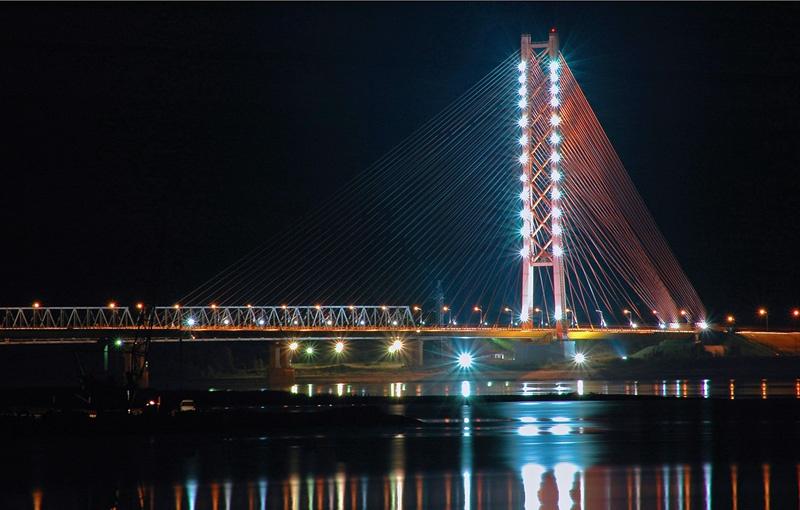 Югорский мост, Сургут