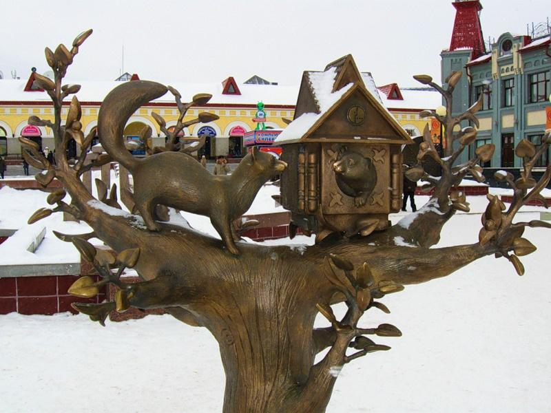 Памятник кунице, Уфа