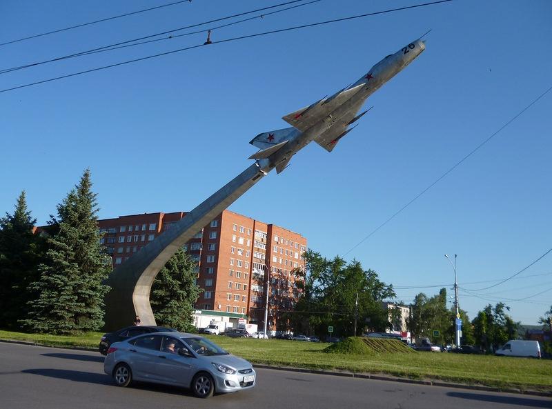 Самолёт-памятник Су-9, Пенза